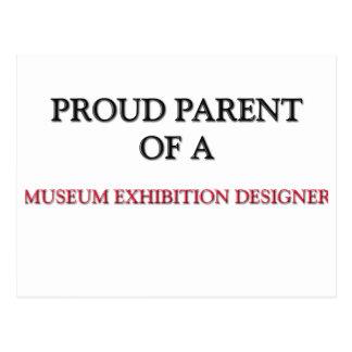 Proud Parent Of A MUSEUM EXHIBITION DESIGNER Postcard