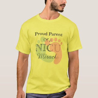 Proud Parent Of A NICU Miracle T-Shirt