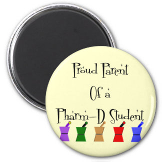 Proud Parent of a PharmD (pharmacy student) gifts 2 Inch Round Magnet