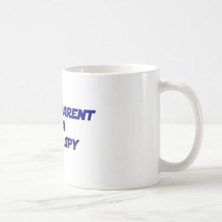Proud Parent of a Rebel Spy Basic White Mug