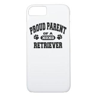 Proud Parent of a Retriever Dog Owner iPhone Case