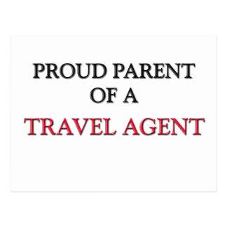 Proud Parent Of A TRAVEL AGENT Postcard