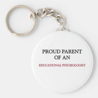 Proud Parent OF AN EDUCATIONAL PSYCHOLOGIST Keychain