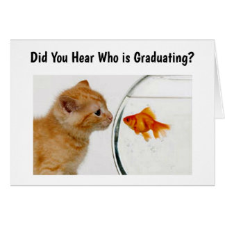 PROUD PARENTS TELL ALL THAT **SON GRADUATES CARD