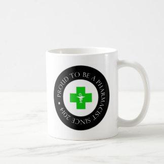 Proud Pharmacist Since 2014 Coffee Mug