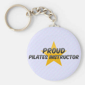 Proud Pilates Instructor Keychain