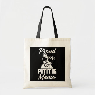 Proud Pittie Mama womens Pitbull Bag