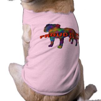 PROUD PITTY DOG SHIRT