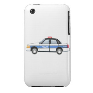 Proud Police Car iPhone 3 Cover