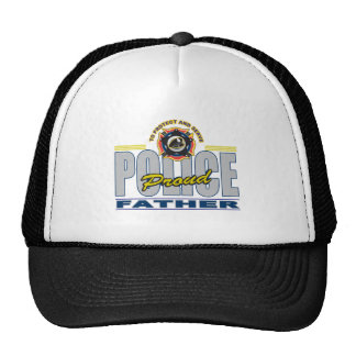 Proud Police Father Trucker Hat