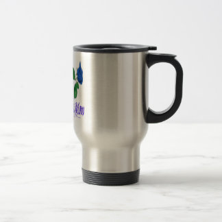 Proud Police Mom Travel Mug