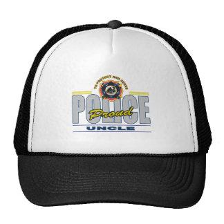 Proud Police Uncle Trucker Hat