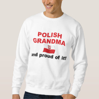 Proud Polish Grandma Sweatshirt