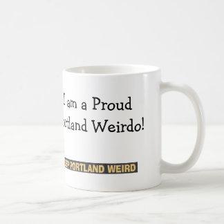 """""""Proud Portland Weirdo"""" Coffee Mug"""