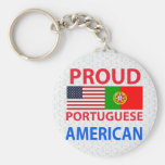 Proud Portuguese American Keychains