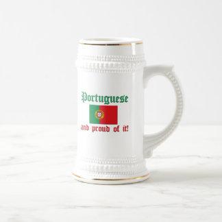 Proud Portuguese Beer Stein