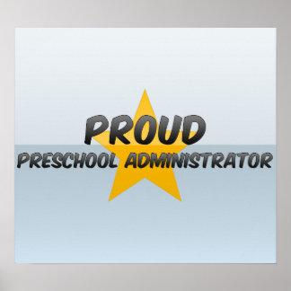 Proud Preschool Administrator Print