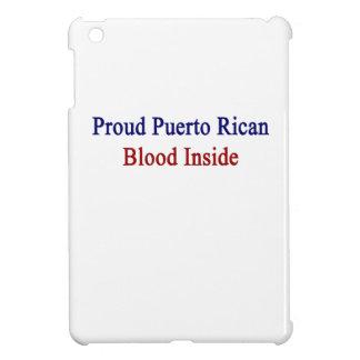 Proud Puerto Rican Blood Inside iPad Mini Covers