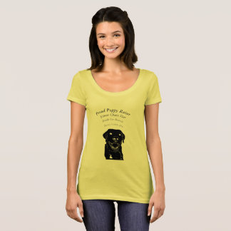 Proud Puppy Raiser Puppy Names T-Shirt