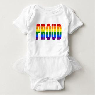 PROUD (Rainbow) Baby Bodysuit