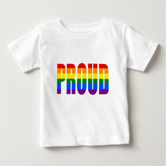 PROUD (Rainbow) Baby T-Shirt