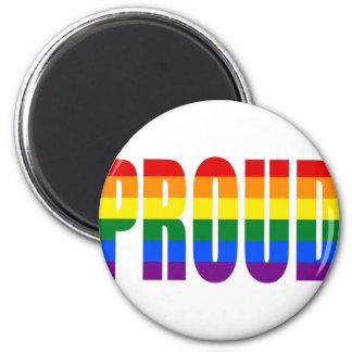 PROUD (Rainbow) Magnet