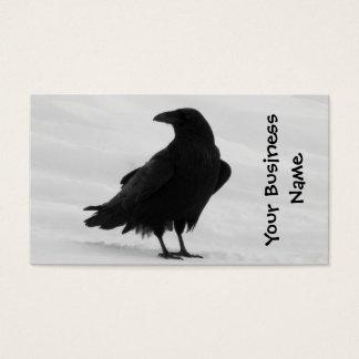 Proud Raven Business Card