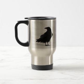 Proud Raven Travel Mug