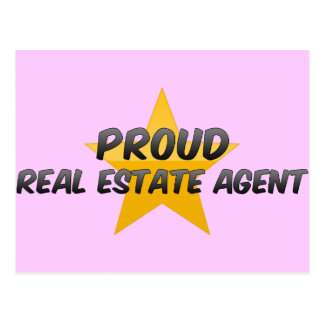 Proud Real Estate Agent Post Cards