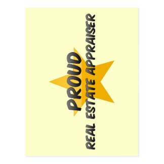 Proud Real Estate Appraiser Post Card