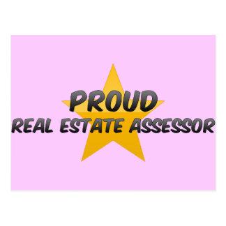 Proud Real Estate Assessor Post Card