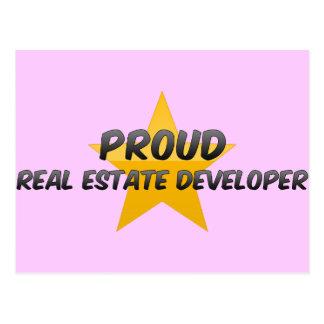 Proud Real Estate Developer Post Card