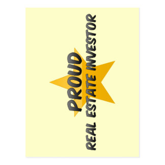 Proud Real Estate Investor Post Card