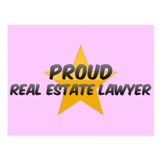 Proud Real Estate Lawyer Post Cards