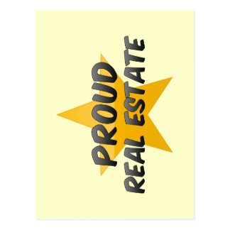 Proud Real Estate Post Card
