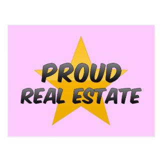 Proud Real Estate Postcards