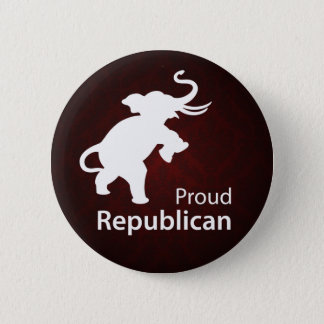 Proud Republican Button