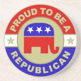 Proud Republican Coaster