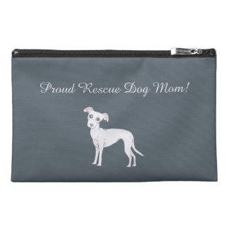 Proud Rescue Dog mom! Travel Accessory Bag