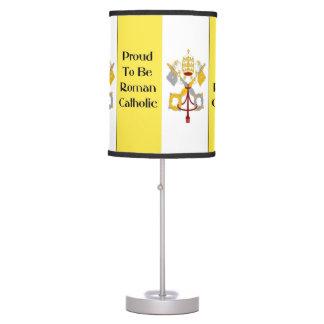 Proud Roman Catholic lamp
