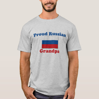 Proud Russian Grandpa T-Shirt