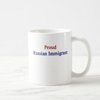 Proud Russian Immigrant Coffee Mug
