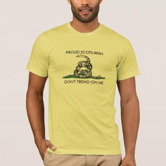Proud Scots-Irish - Don't Tread On Me T-Shirt