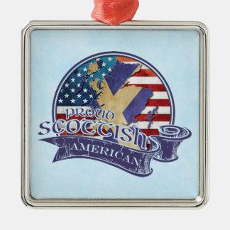 Proud Scottish American Ornament