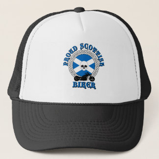 Proud Scottish Biker Cap