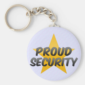 Proud Security Key Chain