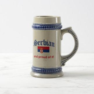Proud Serbian Beer Stein