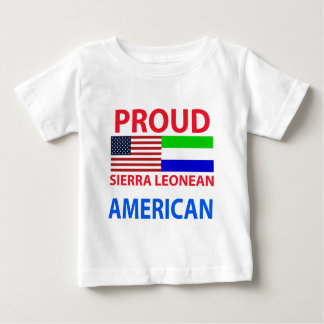 Proud Sierra Leonean American Baby T-Shirt