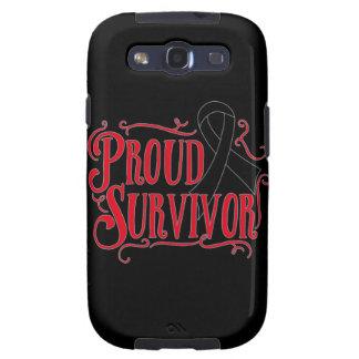 Proud Skin Cancer Survivor Samsung Galaxy S3 Cover