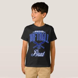 Proud Softball Brat T-Shirt (U.S.A.)
